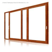 Fenêtres en aluminium à double vitrage en aluminium (FT-W120)