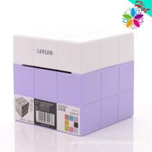 Creative Cube Design Plastic Tissue Holder (ZJH024)
