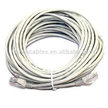 Prix d'usine 50m Cat5e UTP 24AWG rj45 Patch Cable Lan Cable