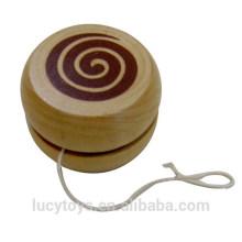 Klassisches Spielzeug billig hölzernes yoyo Spielzeug
