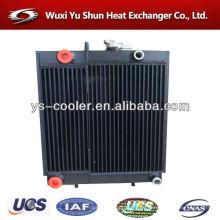 Radiador de la aleta de la placa de aluminio - tanque del wate / parte del agua del radiador
