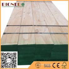 Pine LVL Timber pour la fabrication de maisons en bois