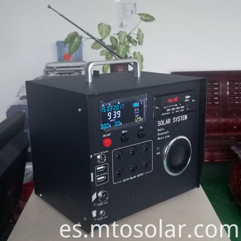 solar power radio homemade