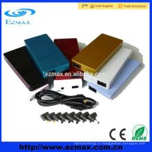 Красочный тонкий 90W Универсальный адаптер переменного тока ноутбук зарядное устройство