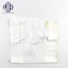 HDPE white vest carrier style plastic carrier bags