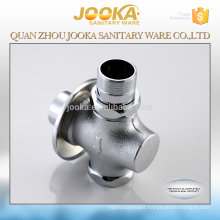 Durable hand control push button public toilet brass flush valve