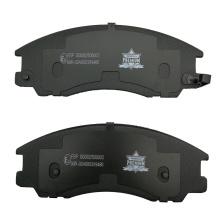 Auto brake system parts semimetal brake pad for Mercedes MP2 MP3 4140K WVA29087