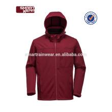 Atacado inverno fibra de carbono softshell aquecida jaqueta impermeável
