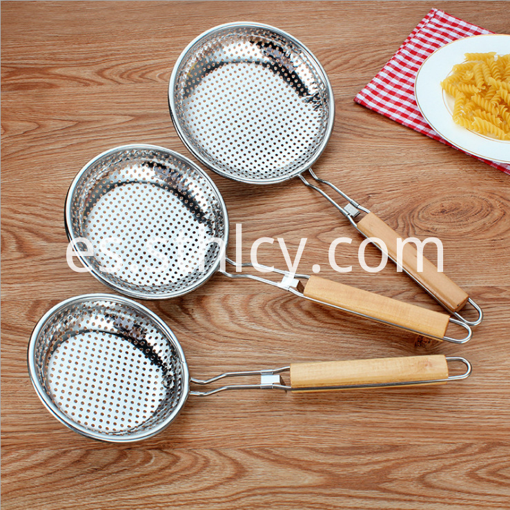 Kitchen Colander Strainer Food Fruit And Vegetable