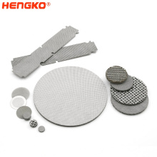 20 100 micron stainless steel wire mesh Round mesh metal filter multi-layer mesh filter screen filter disc