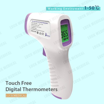 Touch Free Infrarot-Stirnthermometer-Temperaturpistole CE