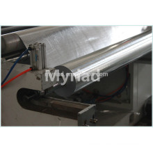 Lámina de aluminio Tela tejida, lámina laminada con papel de aluminio, Reflectante y plata Material de material para techos Laminado laminado