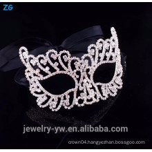 High quality crystal cheap party masks, halloween mask, zombie mask