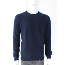 Качество завод продаж классический военно-морской флот кашемир свитера мужчины кашемир свитер