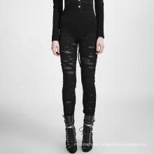K-099 PUNK RAVE Gothic leggings sexy 80s goth Elastic women plus size girls casual gothic leggings