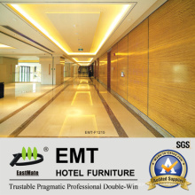 Utility Nice Hotel Public Area Wooden Wall Panel (EMT-F2015)