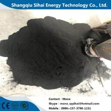 Negro de carbón de la máquina que se agrieta plástica de la calefacción