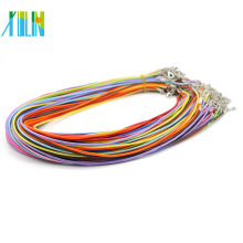 1.5mm 2.0mm Mix Color Lobster Clasp 19inch Adjustable For Necklace For Pendants , ZYN0002