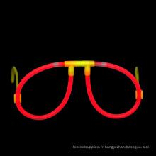 Verres Glow Stick rouges