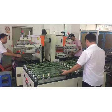 Máquina de impressão de tela de vidro