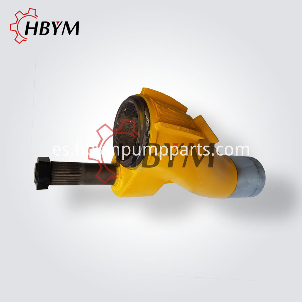 Concrete pump s pipe
