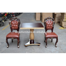 Luxury careved reception table and chair XYN345