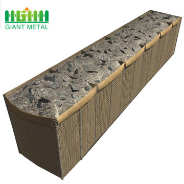 Hot Dipped Galvanized Hesco Anti Blast Barrier
