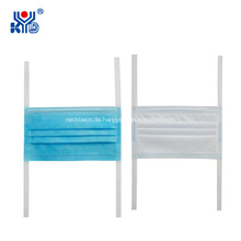 Nichtgewebtes chirurgisches medizinisches Krawatten-Maskenschweißgerät