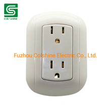 American Standard Duplex Receptacle Wall Socket Electrical Power Wall Outlet