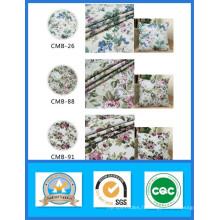100% Coton Imprimé Tissu de Toile de Fleur en Stock Poids 180GSM Largeur 150cm