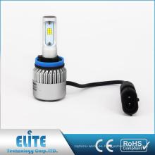 LED bombillas de faros de coche H11 S2 6500K blanco Super Brillante juego de recambio de haz con el mejor precio CE ROHS