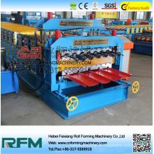 Stahlformmaschine Serie Dachziegel Doppelschicht Rollmaschine