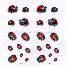 3D Cute Carton Ladybird not-toxic sticker tattoo for kid