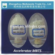agente de vulcanización de caucho MBTS (CAS NO.:120-78-5) para banda transportadora de goma