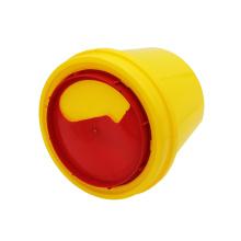 5л 10л желтый острый контейнер для мусора одноразовый