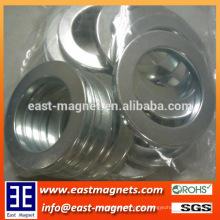 Hochleistungs-Dünnring-Nickel beschichteter Neodym-Magnet zum Verkauf / N35 starker Magnet für Waschmaschine