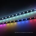 RGB multicolor UCS1903 llevó la lluvia del meteorito tubo de lluvia de iluminación a prueba de agua luz de la ducha 3d