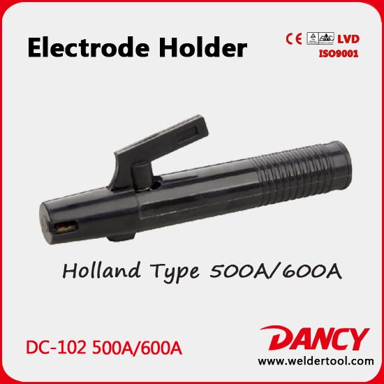 electrode holder holland type 500A 600A DC-102