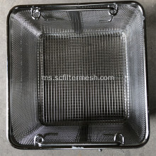 Keranjang Plastik Perforated Medical Basket