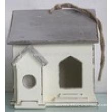 Luckywind Shabby Chic alta qualidade sólido madeira Birdhouse