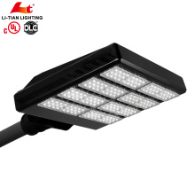 UL DLC listed High lumen 170lm/w 350w module led shoe box street light for parking lot projects