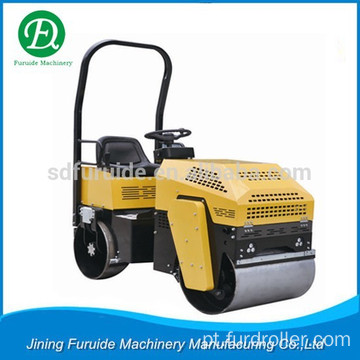 Soil Compaction Vibratory Roller Compactor with 1 Ton Capacity (FYL-880)
