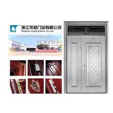 Mother and Son Stainless Steel Door