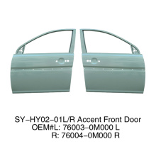 Front doors For Hyundai Accent