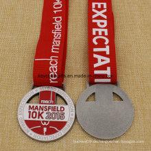 Uniqe Design Medaillon Metall Mansfield Run 5k 10k Medaille