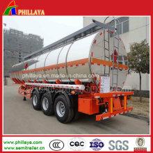 40cbm Kraftstoff / Öl / Wasser Tankwagen Semi Truck Trailer zum Verkauf