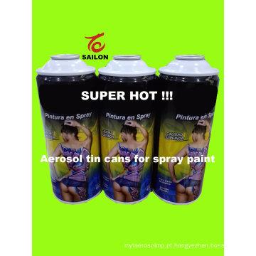Latas de aerossol para tinta spray (400ml)