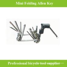 Ferramentas de bicicleta de chaveira hexagonal de alta qualidade para o ciclo
