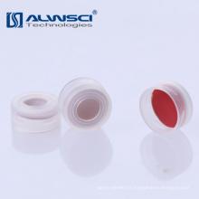 Capuchon anti-adhérent transparent transparent transparent de 11 mm pour flacon de 2 ml