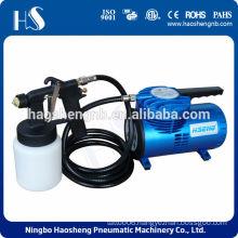 AS06K-2 mini air compressor spray kit